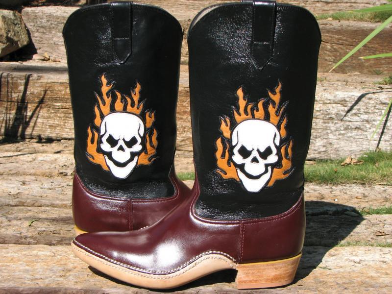 Skull N Flames